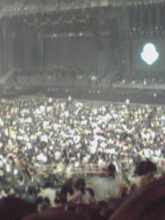 東方神起のコンサートに行って来ました!