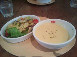 ムーミンカフェ サラダ&スープ