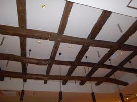 長野県長寿食堂の天井