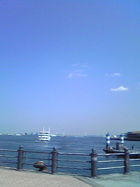 横浜快晴良い気分