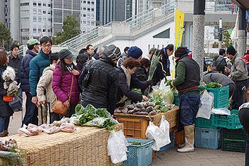 横浜農家朝市