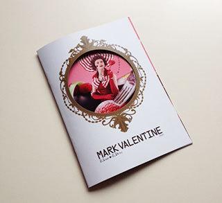 渋谷マークシティ「MARK VALENTINE 2014」パンフレットデザイン表紙