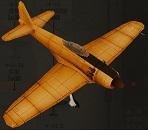 十七試艦上戦闘機 A7M1 試製烈風