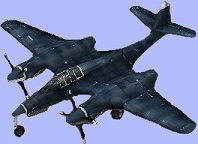 マクドネル XP-67 (McDonnell XP-67)バッド