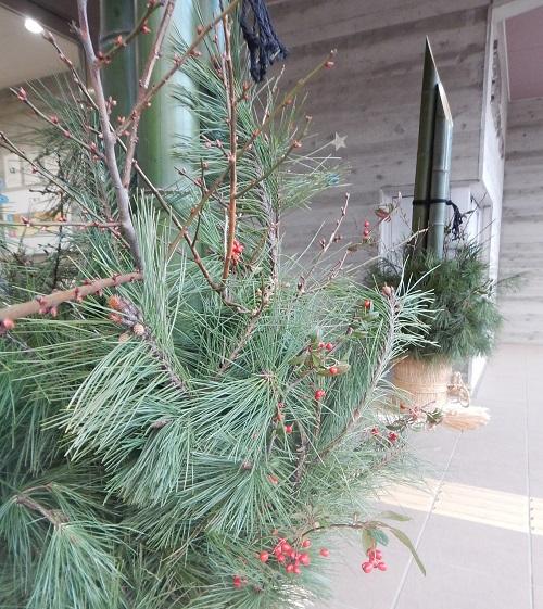 門松の材料は松、竹、梅