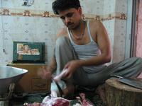 インドのお肉屋さん