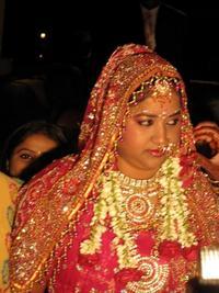 インドの花嫁さん