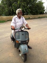 バイクのおじさん