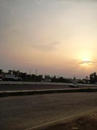 インドの夕日