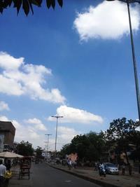 インドの空