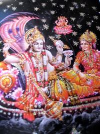 ビシュヌ&ラクシュミー