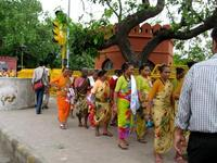 南インドからの観光客