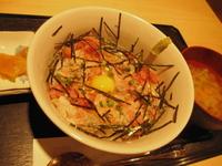 日本海のかに丼!