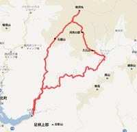 丹沢トレイル、玄倉~檜洞丸~大石山
