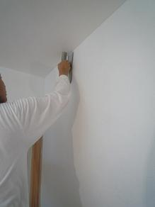 スイス漆喰塗り逗子