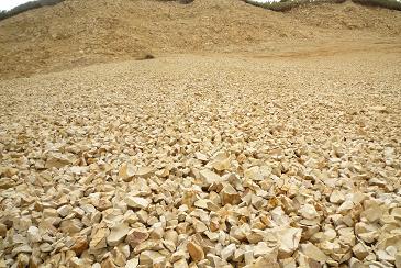 珪藻土と土