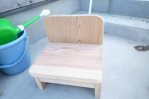 無垢の椅子
