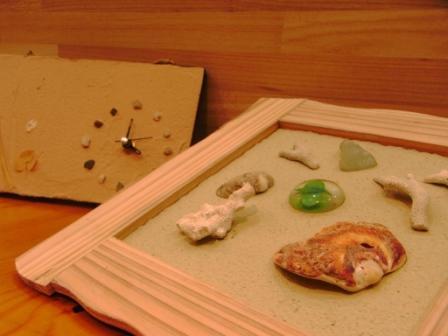 珪藻土 ワークショップ
