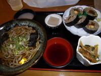 東京庵の「 そば寿司セット 」