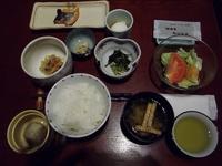 「 湯宿 寿命延 ( じょんのび )」 の朝食