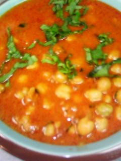 チャナ豆のカレー