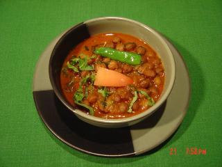 ブラックチャナ豆のカレー