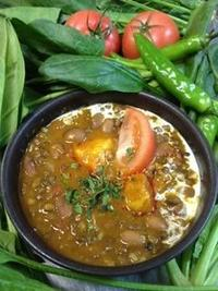 Dal chicken curry