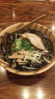 黒味噌ラーメン