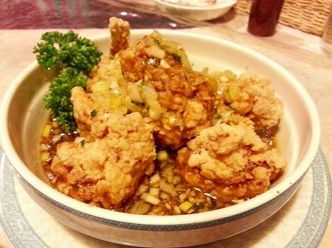 油淋鶏(ユーリンチー)@相模原・古淵の本格中華料理店CovoCaldo(コーボカルド)