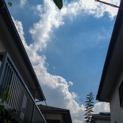 茅ヶ崎の夏空