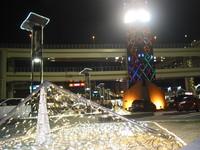 大黒PAのイルミネーション 2008/11/29 23:45:54