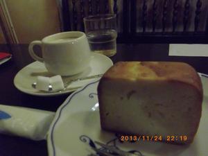 フランソア喫茶室のケーキセット