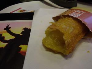 マクドナルドのパイナップルパイ