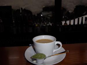 ラウンジバーのコーヒー