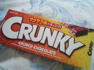 LOTTE クランキーチョコレート