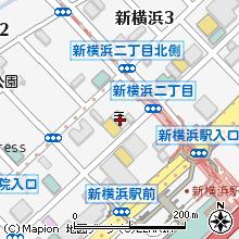 新横浜駅前郵便局地図